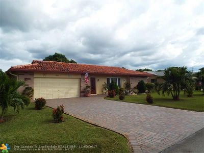Tamarac Single Family Home For Sale: 7004 NW 92nd Ave
