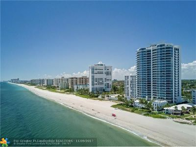 Pompano Beach Condo/Townhouse For Sale: 1600 S Ocean Blvd #1802