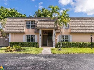 Plantation Condo/Townhouse Backup Contract-Call LA: 298 NW 69th Ave #184