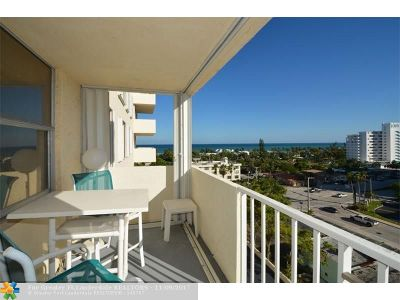 Condo/Townhouse Sold: 3015 N Ocean Blvd #8H