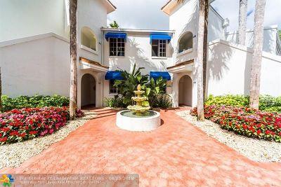 Pompano Beach Condo/Townhouse For Sale: 4128 W Palm Aire Dr #282A