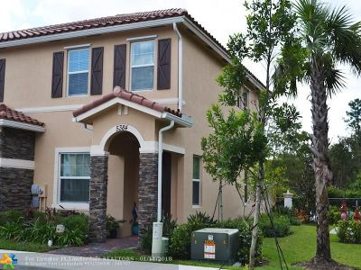 West Palm Beach Condo/Townhouse For Sale: 5384 Ashley River Rd