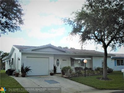 Plantation Single Family Home For Sale: 8940 NW 10th St