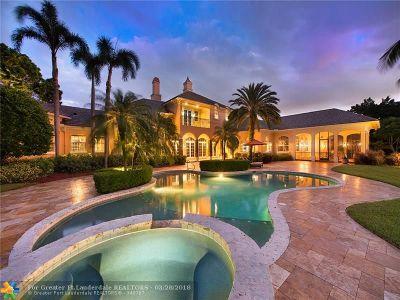 Boca Raton Single Family Home For Sale: 8600 Horseshoe Lane