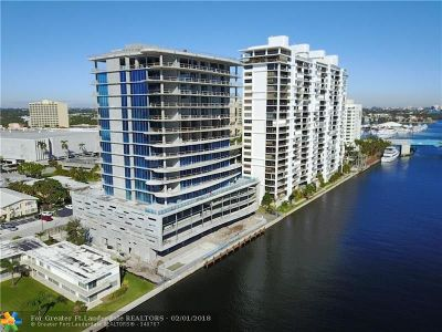 Fort Lauderdale Condo/Townhouse For Sale: 920 Intracoastal Dr. #602