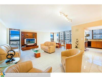 Pompano Beach Condo/Townhouse For Sale: 1361 S Ocean Blvd #609