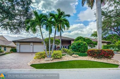 Coral Springs Single Family Home For Sale: 1800 Colonial Dr