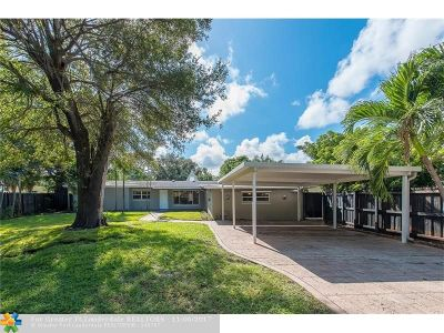 Wilton Manors Single Family Home For Sale: 1416 NE 27th Dr