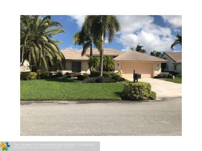 Parkland Single Family Home For Sale: 6021 NW 61st St
