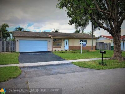 Lauderhill Single Family Home For Sale: 4641 NW 79th Ave