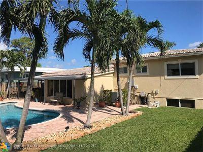 Oakland Park Single Family Home Backup Contract-Call LA: 4771 NE 4th Ave