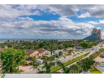 Fort Lauderdale Condo/Townhouse Backup Contract-Call LA: 2821 N Ocean Blvd #605S
