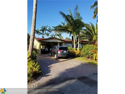 Wilton Manors Single Family Home Backup Contract-Call LA: 409 NE 28th Dr