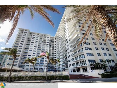 Pompano Beach Condo/Townhouse For Sale: 111 N Pompano Beach Blvd #1203