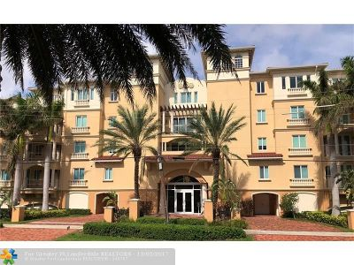 Fort Lauderdale Condo/Townhouse For Sale: 2765 NE 14th St #33 (aka