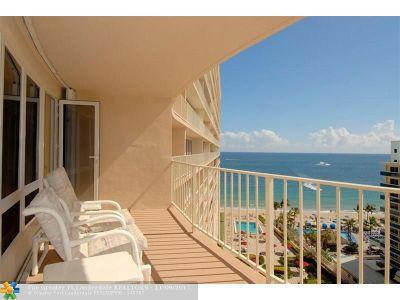 Condo/Townhouse For Sale: 4100 Galt Ocean Dr #1003