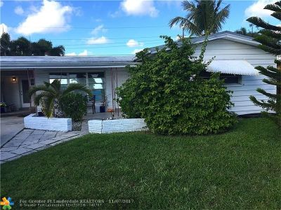 Fort Lauderdale Single Family Home Backup Contract-Call LA: 3507 SW 14th St