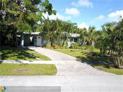 Fort Lauderdale Single Family Home For Sale: 2175 NE 59th Ct