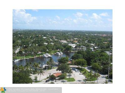 Fort Lauderdale Condo/Townhouse For Sale: 610 W Las Olas Bl #1711N