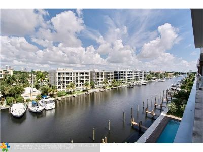 Broward County Condo/Townhouse For Sale: 21 Isle Of Venice #PH2