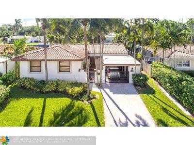 Fort Lauderdale Single Family Home For Sale: 912 Avocado Isle