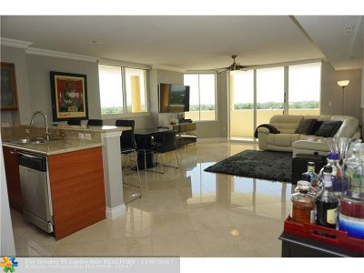 Fort Lauderdale Condo/Townhouse For Sale: 2001 N Ocean Blvd #602S