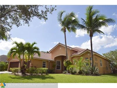 Parkland Single Family Home For Sale: 6815 NW 108th Ave