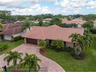 Coral Springs Single Family Home Backup Contract-Call LA: 5361 NW 66th Ave