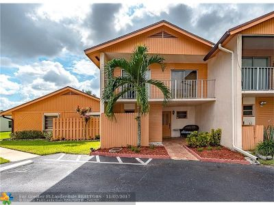 Davie Condo/Townhouse Backup Contract-Call LA: 2162 Nova Village Dr #2162