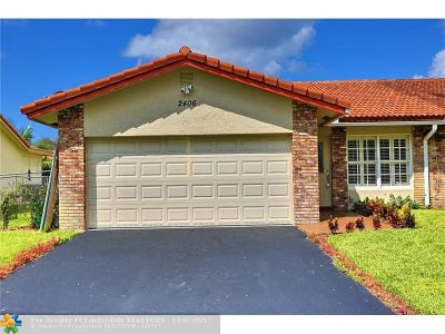 Coral Springs Single Family Home For Sale: 2406 NW 91st Ave