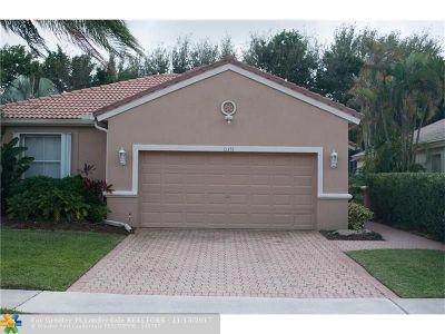 Boca Raton Single Family Home For Sale: 11435 Sea Grass Cir