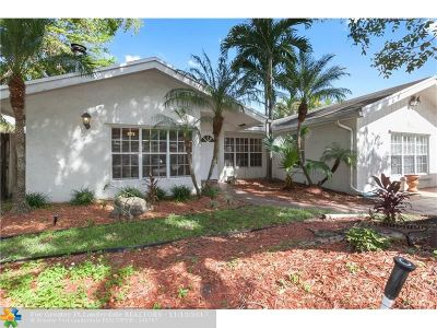 Coconut Creek Single Family Home For Sale: 4981 NW 6th St