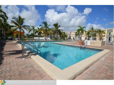 Dania Condo/Townhouse For Sale: 608 NE 2nd St #338