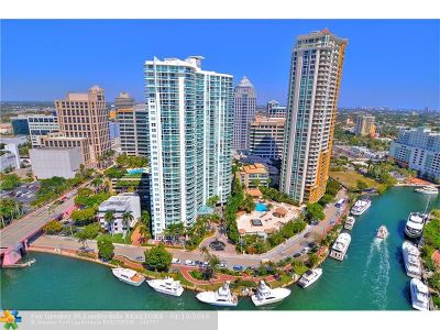 Fort Lauderdale Condo/Townhouse For Sale: 347 N New River Dr E #2602