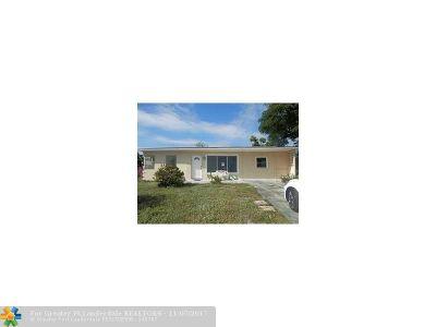 Pompano Beach Single Family Home For Sale: 2921 NE 9th Terrace