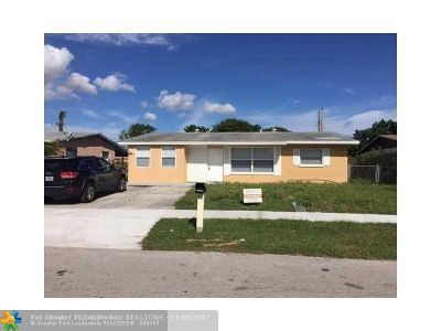 Pompano Beach Single Family Home For Sale: 197 NW 20th St