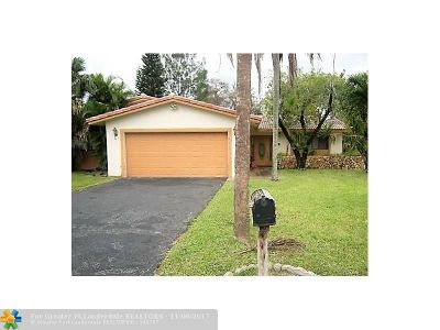 Coral Springs Single Family Home For Sale: 144 NW 89th Ter