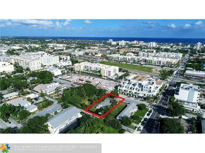 Delray Beach Single Family Home For Sale: 148 SE 1st Ave
