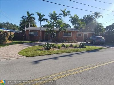 Fort Lauderdale Single Family Home For Sale: 928 NE 18th Ct