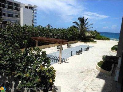 Palm Beach Condo/Townhouse For Sale: 3475 S Ocean Blvd #212