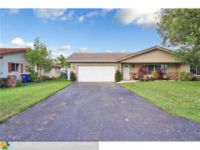 Coral Springs Single Family Home For Sale: 9031 NW 23rd St