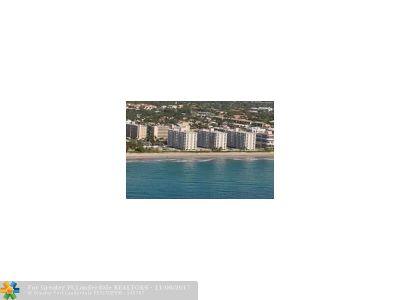 Highland Beach Condo/Townhouse For Sale: 3301 S Ocean Blvd #307