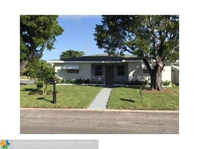 Lake Worth Single Family Home For Sale: 1830 N D St