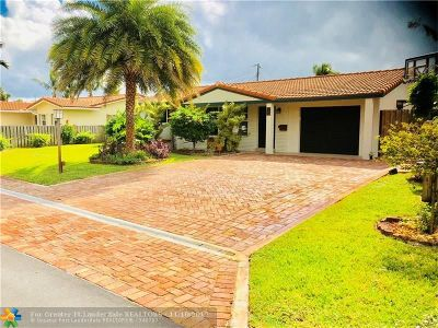 Pompano Beach Single Family Home For Sale: 20 SE 10th St