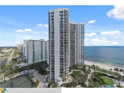 Fort Lauderdale FL Condo/Townhouse For Sale: $825,000