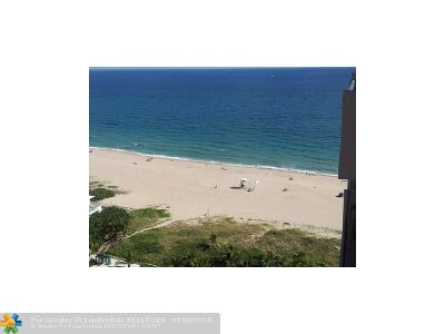 Pompano Beach Condo/Townhouse For Sale: 405 N Ocean Blvd #1905
