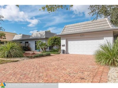 Sunrise Intracoastal Single Family Home For Sale: 531 Intracoastal Dr