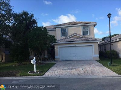 Coral Springs Single Family Home For Sale: 8559 NW 46th Dr