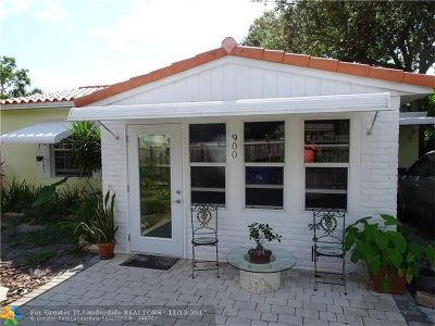 Fort Lauderdale Single Family Home For Sale: 900 SE 13th
