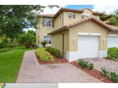Parkland Condo/Townhouse For Sale: 8240 NW 128th Ln #39-A
